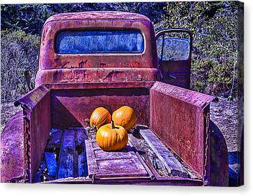 Truck Bed Canvas Print