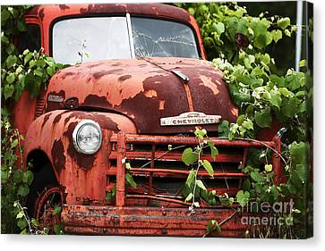 Truck Canvas Print by John Rizzuto