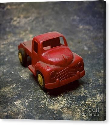 Truck Toy Canvas Print by Bernard Jaubert