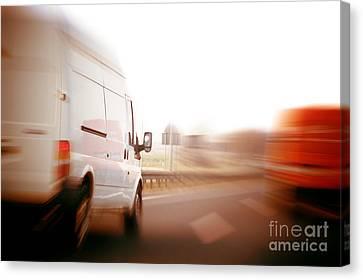 Fast Shipping Canvas Print - Trucks by Michal Bednarek