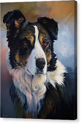 Art Of Mia Delode Canvas Print - Trudy by Mia DeLode