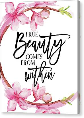 True Beauty Canvas Print by Amy Cummings