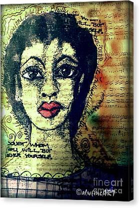 True Beauty Is Soul-deep Canvas Print