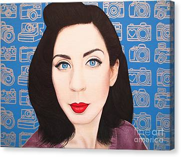 True Beauty - Lisa Boros Canvas Print