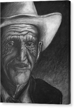 True Cowboy Canvas Print by Jay Alldredge