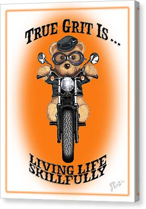 True Grit Canvas Print by Jerry Ruffin
