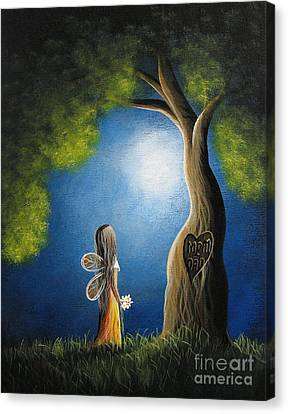 True Love Lasts Forever By Shawna Erback Canvas Print by Shawna Erback