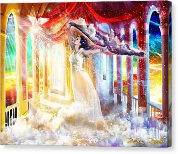 True Worshiper  Canvas Print