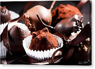 Truffles Canvas Print by Cole Black
