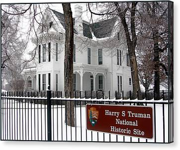 Truman Home Winter 2007 Canvas Print
