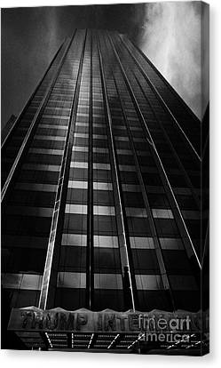 Trump International Tower And Hotel Former Gulf Western One Central Park West New York City Canvas Print by Joe Fox