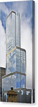 Trump Tower Chicago - A Surplus Of Superlatives Canvas Print by Christine Till