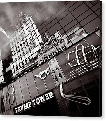 Trump Tower Canvas Print by Dave Bowman