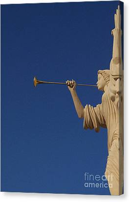Trumpeter  Canvas Print by First Star Art