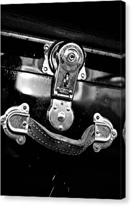 Canvas Print featuring the photograph Trunk Latch by Adria Trail