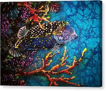 Trunkfish - Male Canvas Print by Sue Duda