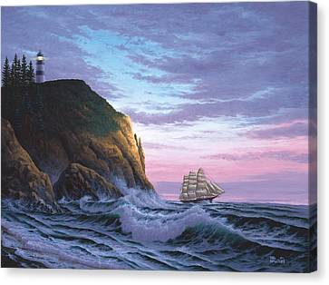 Trusting The Light Canvas Print