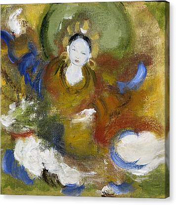 Milarepa Canvas Print - Tseringma by Alma Dankoff