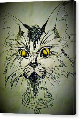 Tsimos Cat Canvas Print