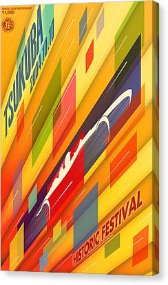 Tsukuba Historic Festival 2004 Canvas Print