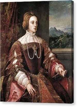 Ttitia, Tiziano Vecello, Also Called Canvas Print
