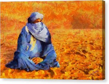 Tuareg 2 L.e. Canvas Print by George Rossidis