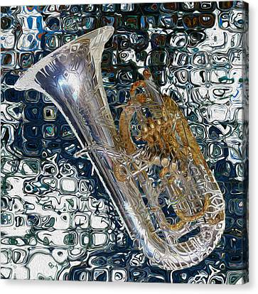 Tuba Canvas Print by Jack Zulli