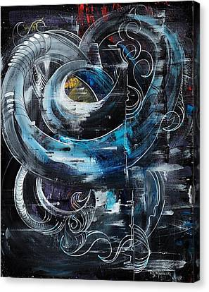 Tubular Chaos Canvas Print