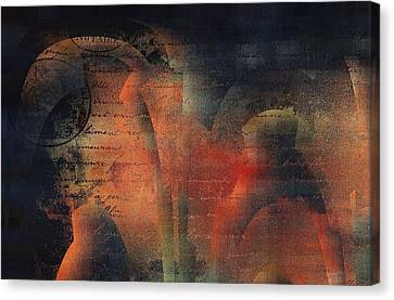 Tubulence - S03ac01 Canvas Print by Variance Collections