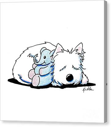 Tuckered Out Canvas Print by Kim Niles