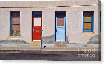 Tucson Arizona Doors Canvas Print by Gregory Dyer
