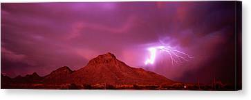 Tucson Az Usa Canvas Print by Panoramic Images