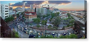 Tucson Streetcar Sunset Canvas Print