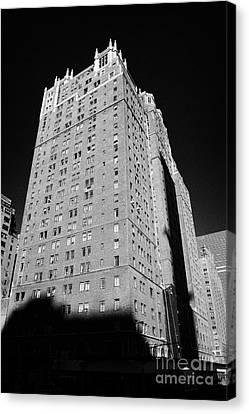 Manhatan Canvas Print - Tudor City Midtown Apartments Former Slum New York City by Joe Fox