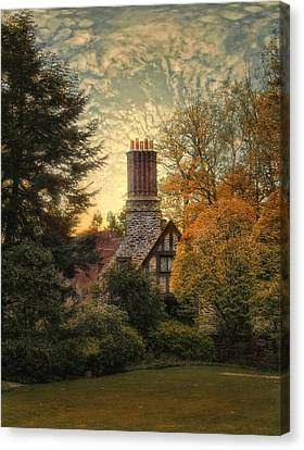 Tudor In Autumn Canvas Print by Jessica Jenney