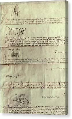 Autographed Canvas Print - Tudor Monarchs by Granger
