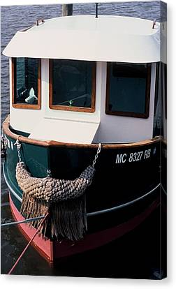 Canvas Print featuring the photograph Tug  by Randy Pollard