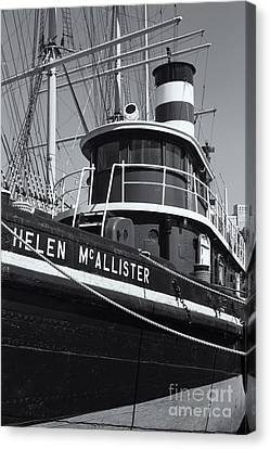 Tugboat Helen Mcallister II Canvas Print by Clarence Holmes