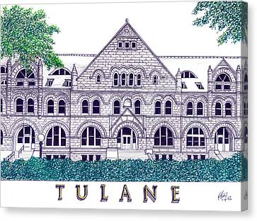 Tulane Canvas Print by Frederic Kohli