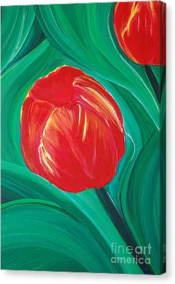 Tulip Diva By Jrr Canvas Print by First Star Art