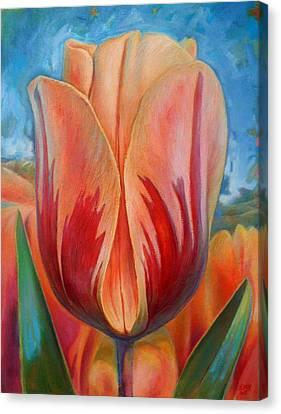 Tulip Canvas Print by Hans Droog