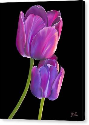 Tulips 2 Canvas Print by Laura Bell