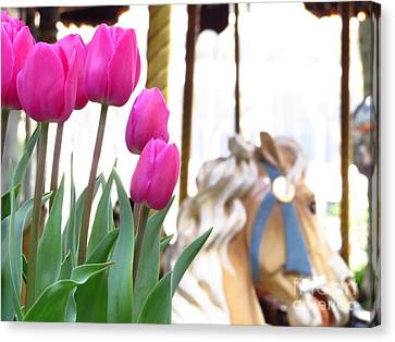 Tulips Canvas Print by Ece Erduran