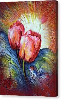 Tulips Canvas Print by Harsh Malik