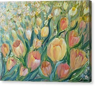 Tulips II Canvas Print by Joanne Smoley
