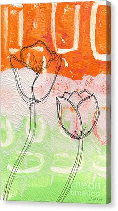 Tulips Canvas Print by Linda Woods