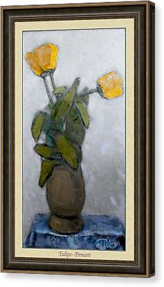 Tulips Canvas Print by Pemaro