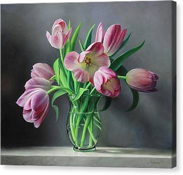 Canvas Print - Tullips From Holland by Pieter Wagemans
