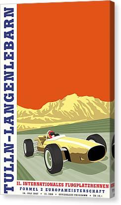 European Championship Canvas Print - Tulln Langenlebarn Formula 2 1967 by Georgia Fowler