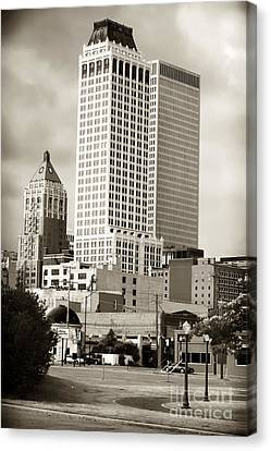 Tulsa Canvas Print by John Rizzuto